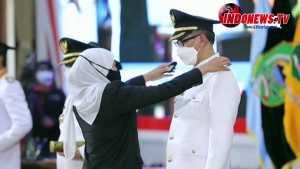 , Tahap Kedua, Gubernur Jawa Timur melantik 17 Bupati dan Wakil Bupati serta Walikota dan Wakil Walikota hasil Pemilihan Kepala Daerah Serentak Tahun 2020,