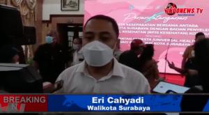 , Hanya dengan KTP, Warga Surabaya dapat fasilitas kesehatan.,