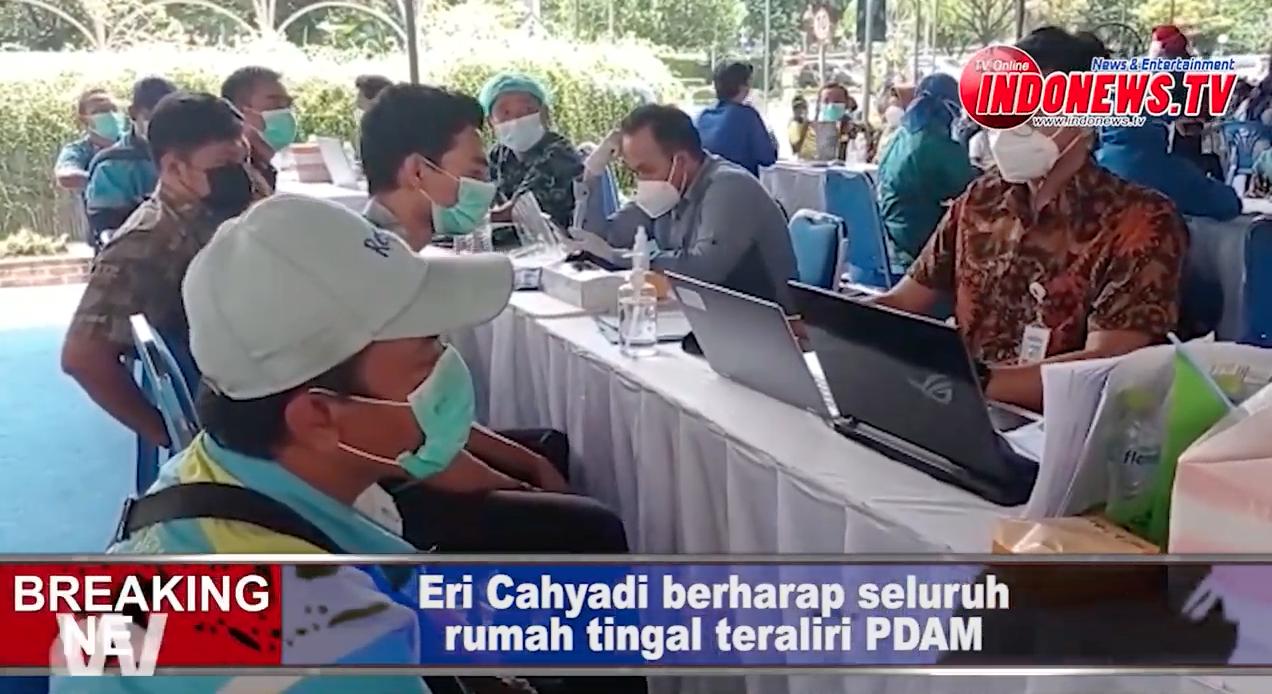, ERI berharap PDAM Kota Surabaya bisa memenuhi kebutuhan seluruh warga Surabaya,