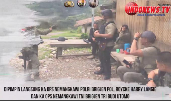, TNI-POLRI BERHASIL MENGENDALIKAN SITUASI DI BEOGA, KAB. PUNCAK,
